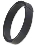 Anelli di guida / Nastro AGE mantengono in asse il sistema cilindro POMᘦ vetro: sono intercambiabili con Anelli di guida / Nast