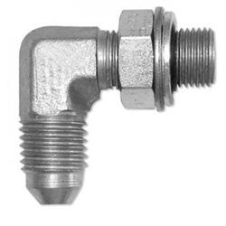 Riduzione Maschio Maschio 90° JIC 3/4 - 1/2 GAS Orientabile