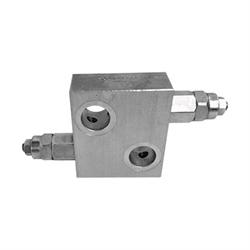 Valvola Antiurto VAU/DE 1/4 D.E. Per Motore Idraul